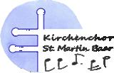 Kirchenchor St. Martin Baar Logo