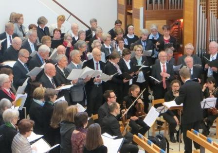 Kirchenchor Baar Steinhausen - 2. Mai 2015